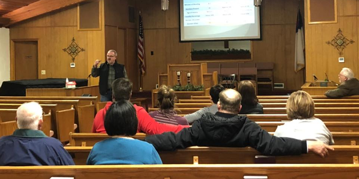 Active Shooter Education at Welch Baptist Church